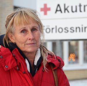 Maria Dahlberg, barnmorska i Sollefteå.