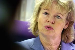 Ulla Olsson (M), vice ordförande i polisstyrelsen i Dalarna.