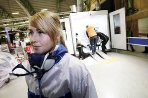 Frida Gustafsson från Arkhyttan är Fordonslackerarnas representant i Yrkeslandslaget efter seger i SM.