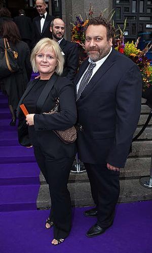 Ulrica Messing och hennes man Torsten Jansson.