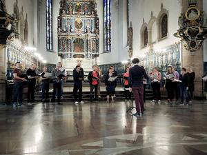 Falu kommuns kulturpristagare inleder sommarsäsongen i Kristine kyrka.