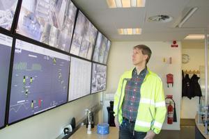 Hans Jönsson, områdeschef för Bolidens gruva i Garpenberg, har varit med och nyanställt mer än ett 100 personer de senaste åren.