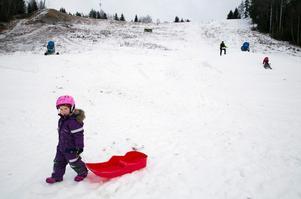 Nora Grip, fyra år.