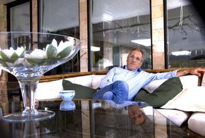 Ola Haglind håller på att ändra livsinriktning och nya planer tar form.