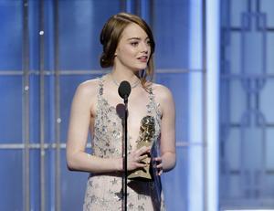 Emma Stone prisades för sin insats i filmen