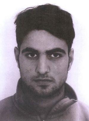 """""""22-åringen"""". Döms till fängelse i nio år för medhjälp till mord på bröderna Moussa och människorov."""