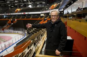 Gustaf Lefvert, ordförande i Örnsköldsviks teater- och konserthusstiftelse, anser att Fjällräven Center kan bli en utmärkt skådeplats även för det som kallas kultur.