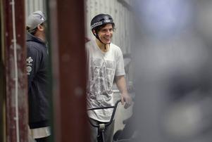 Adrian Malmberg är en av de mest kända svenska BMX-cyklisterna.