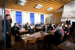 Många är intresserade och vill veta hur det går med planerna för dubbelspår mellan Gävle och Sundsvall.