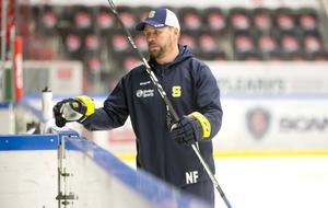 Nichlas Falk ser fram emot att träna SSK den kommande säsongen igen.