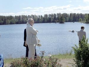 Känd profil. Helge Skoog var där och njöt av både miljö och prisutdelning.