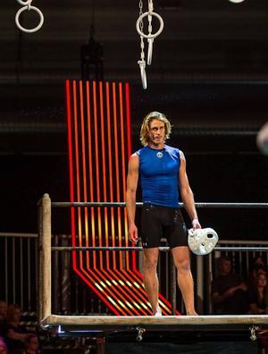 I dag kämpar Emil Johansson i tv-programmet Gladiatorerna. Foto: Adam Alexander Johansson