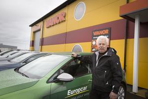 Nu finns en nygammal biluthyrningsfirma på plats i Hudiksvall.