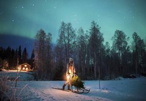 Vintern har varit Jonnas största utmaning sedan hon flyttade till Grundtjärn. Ändå är vintern en kär årstid för henne.