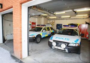 Polisen i Krokom hade tidigare två skotrar i sitt garage.