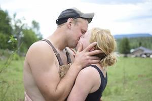 Stefan Hildingsson och Hanna Sundin är fortfarande lika kära som under inspelningarna av