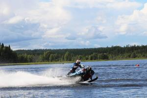 kvalet till EM i watercross bjöd på fartfylld action.