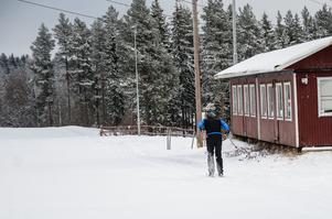 13 kilometer långa längdskidsspår är färdigpreparerade.