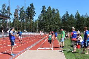 Fortum-spelen 2016 på Sävstaås IP i Bollnäs.