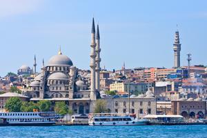 Välj ett hotell med utsikt i Istanbul.