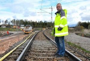 Robert Pettersson på Trafikverket välkomnar alla synpunkter på den nya bron.