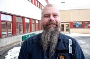Anders Könberg, chef för trafikenheten på Jämtlandspolisen.
