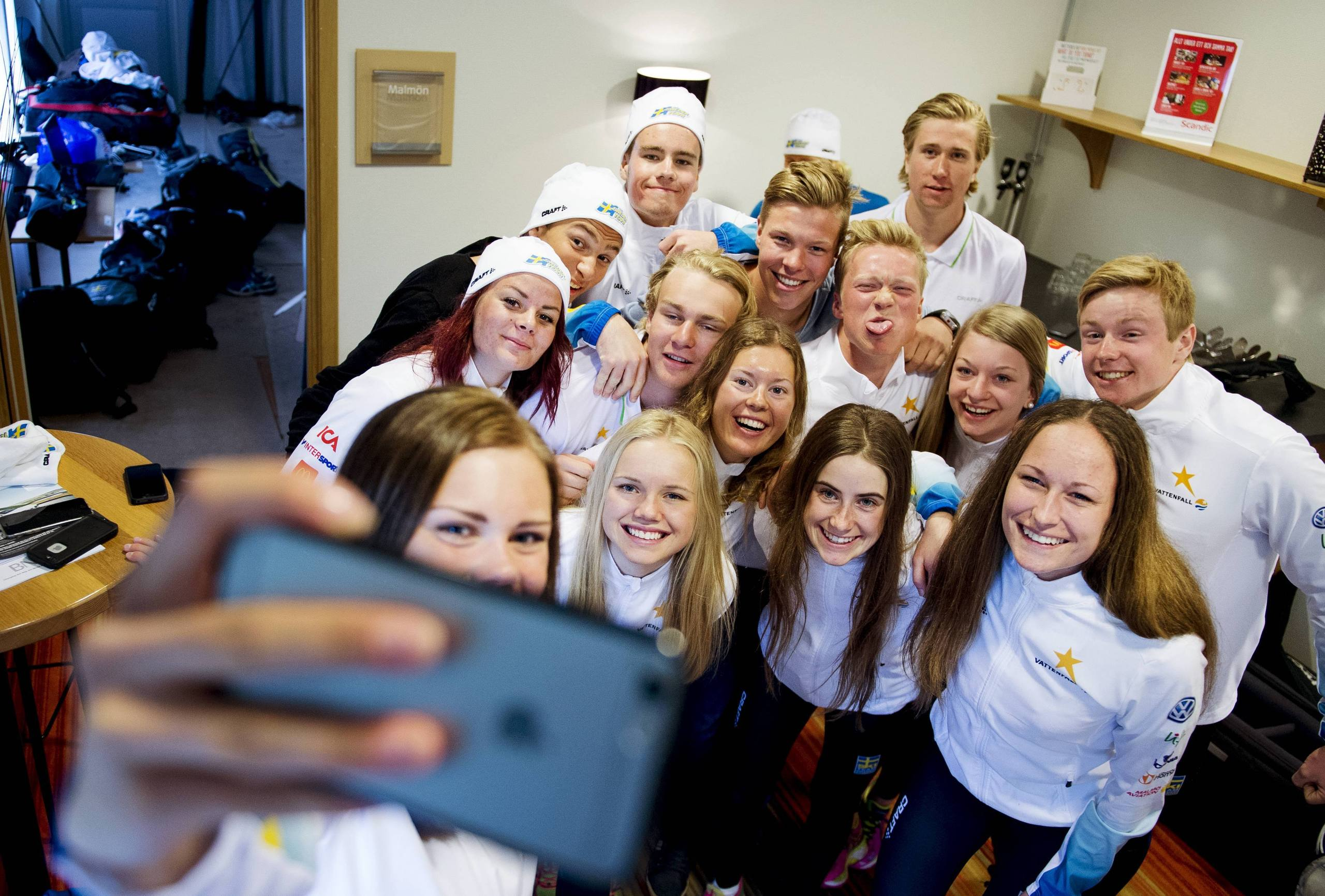 Succe for svenske junioren