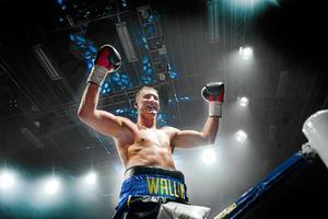 Otto Wallin under galan i Sundsvall förra året.