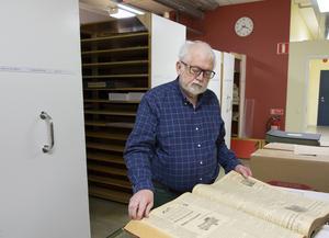 Det drygt 70 år gamla historiska numret finns bevarat i ST:s arkiv. ST skulle mycket väl kunna fortsätta att leva på papperstidningen, om man bara vårdar sina trogna prenumeranter menar Börje Alström.