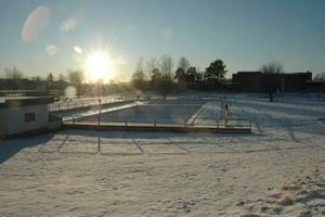 SNART VERKLIGHET. Aspenbadet i Tierp ska byggas om till ett inomhusbad. Ett beslut som kommunalrådet Bengt-Olov Eriksson anser vara årets bästa.