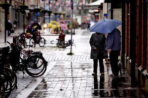Regnigt väder väntas i veckan.