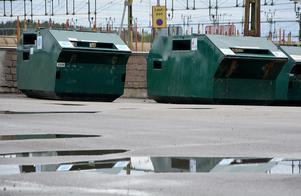 Förpacknings- och tidningsinsamlingen riskerar byggsanktionsavgift för att ha flyttat återvinningsstationen i centrala Ånge utan utfärdat startbesked.