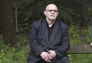 Kriminalförfattaren Börge Hellström.