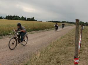 Extraheat, Folkärna Södra sockenmästerskap mellan 3 st 98 cc. 3an fick kedjeproblem.