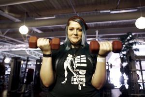På Gustavsvik finner Nathalie frid genom att träna.