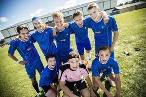 Efter en spännande och jämn final stod grabbarna i laget Joga Bonito.som segrare, efter 1-0 mot motståndarlaget Friends.