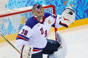 Ryan Miller stod en match för USA i OS i Sotji.