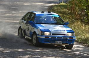 Fredrik Persson vann 4wd-klassen och hade utmanat Flodin och Bergman om totalsegern om inte en drivaxel brustit i det andra åket.