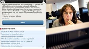 NA:s tidningschef Katrin Säfström ser både fördelar och nackdelar med läsarkommentarer.