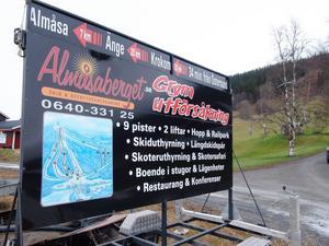 Framtiden är ytterst oviss för skidanläggningen i Almåsa. Skidåkning i vinter är mycket avlägsen.