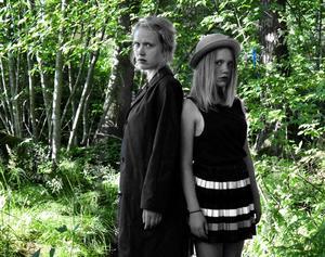Klara och Edit Zimmerman.