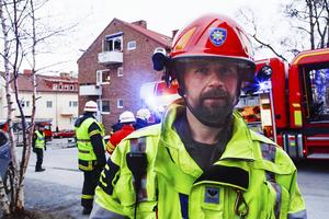 Fredrik Eriksson ledde räddningsinsatsen.
