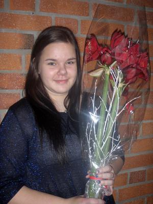 Clara Isaksson är årets Lucia i Los.