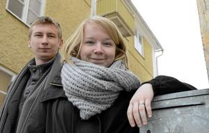 På väg mot nya filmmål. Linus Eriksson och Anna Liss som tillsammans driver filmkollektivet Kopparberg at war.