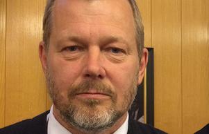 Åke Broman, direktör Mälardalens brand- och räddningsförbund (MBR).