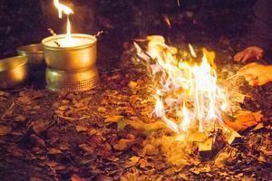 Om det fortfarande råder eldningsförbud under O-ringen kommer det vara olovligt att använda trangiakök.