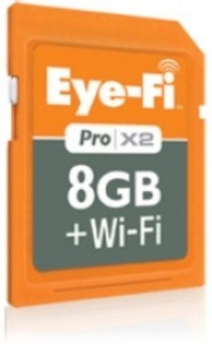 Större trådlöst minneskort från Eye-Fi