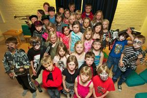 Bild från Fritidshemmens dag i Grycksbo år 2011.
