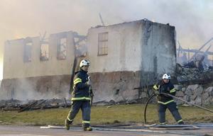 Grafikens hus nära Gripsholms slott i Mariefred förstördes i en brand 2014. Arkivbild.