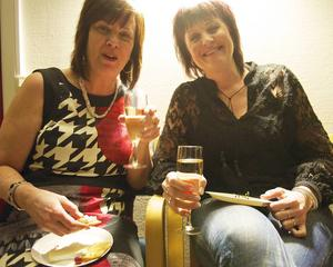 Carina Fluhr och Helen Nilsson var nöjda med kvällen och filmen.